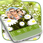 Flowers Frame Photo App icon