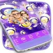 Galaxy Emoji Photo Frames icon