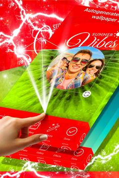 Summertime Photo Frames poster