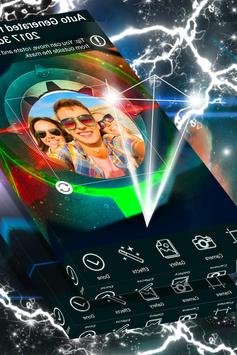 Neon Photo Frame Design screenshot 1