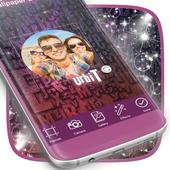 Glitter Photo Frame HD icon