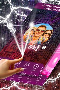 Glitter Photo Frame HD poster