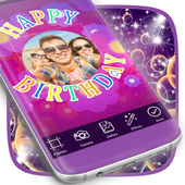 Water Bubbles Photo Frame icon