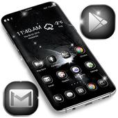 Black&White Launcher Theme icon
