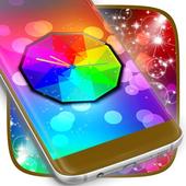 Color Glow Clock icon