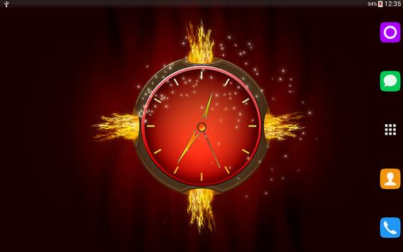 Eternal Flame Clock apk screenshot
