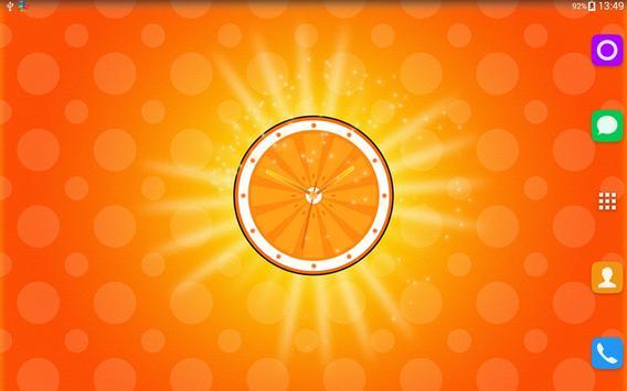 Fruit Clock Live Wallpaper screenshot 4
