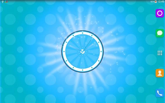 Fruit Clock Live Wallpaper screenshot 7