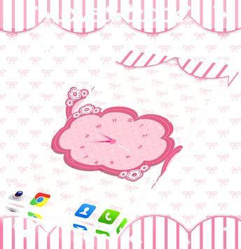 Lovely Clock Live Wallpaper screenshot 1
