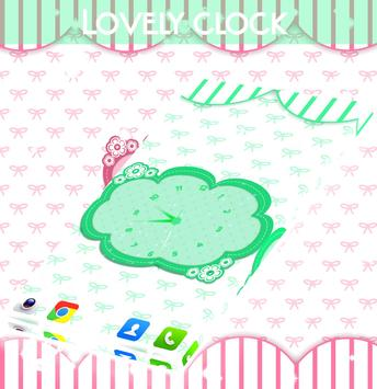 Lovely Clock Live Wallpaper screenshot 2