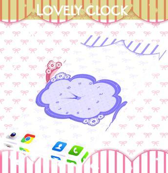 Lovely Clock Live Wallpaper screenshot 3