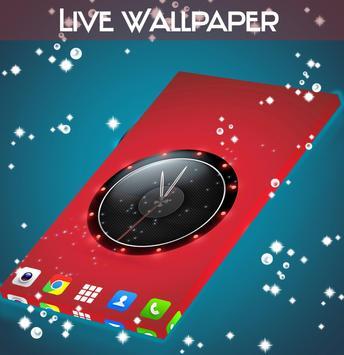 Live Wallpaper Clock for HTC apk screenshot