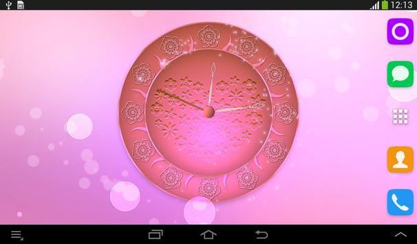 Spring Flowers Clock screenshot 17