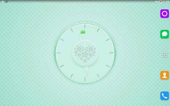 Pink Clock apk screenshot