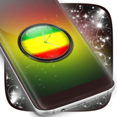 Rasta Clock Live Wallpaper icon