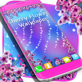 Cherry Flowers Wallpaper icon