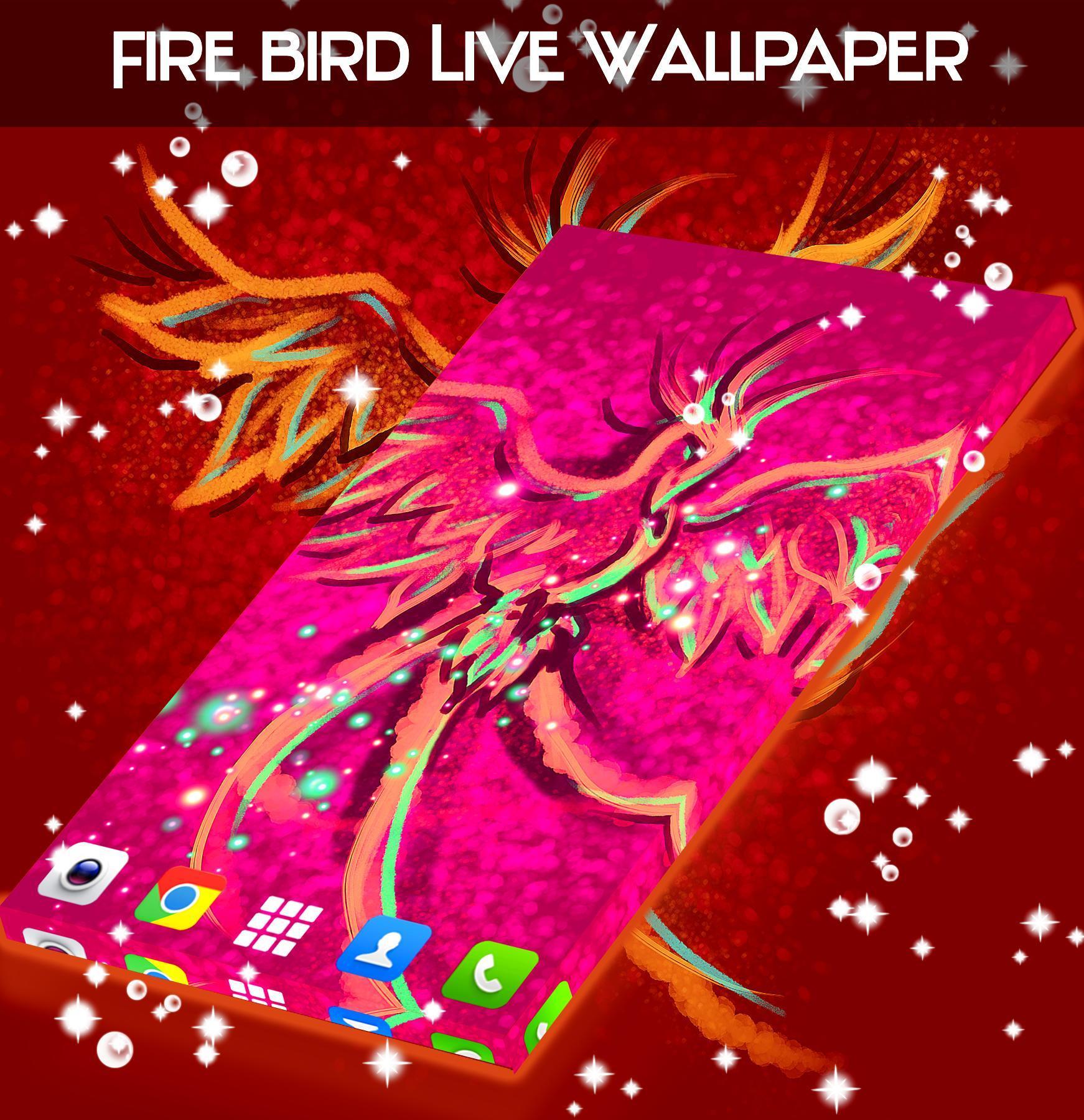 Android 用の 火の鳥ライブ壁紙 Apk をダウンロード