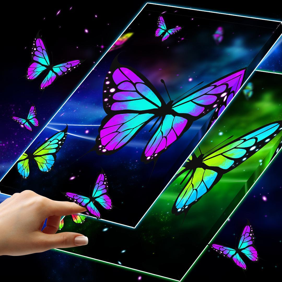 Butterfly Wallpaper 3D For Android APK Download