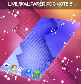 Live Wallpaper for Note 8 apk screenshot