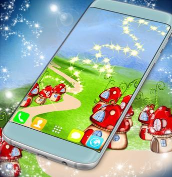 Wonderland Live Wallpaper apk screenshot