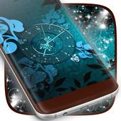 Blue Ancient Clock icon
