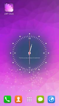 Live Wallpaper Clock poster