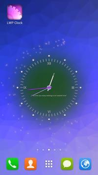 Live Wallpaper Clock apk screenshot