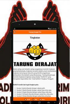 Tarung Derajat Pro apk screenshot