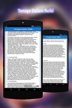 Tenaga Dalam Reiki screenshot 1
