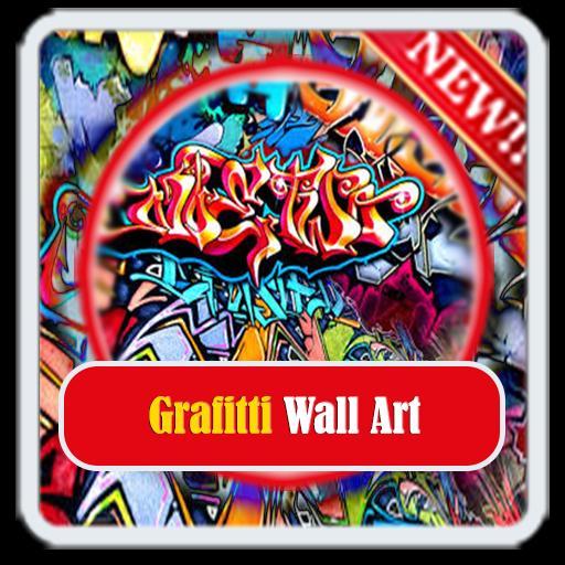 Grafitti Wall Art poster