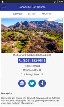 Utah Golf Courses apk screenshot