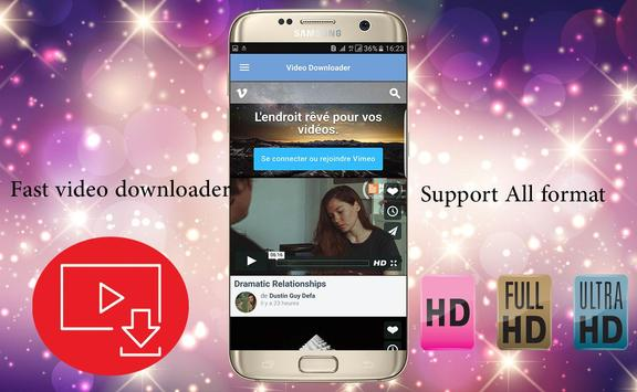 Fast Video Downloader 2017 screenshot 1