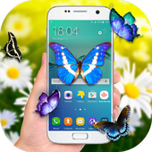 Real Butterflies on Screen - Live wallpaper icon