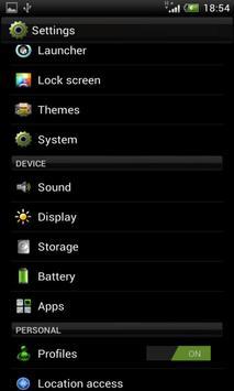 HTC.EleganceX CM10/CM10.1 screenshot 3
