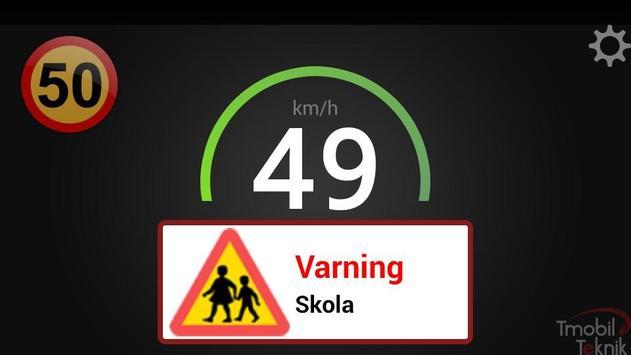 Trafikassistent screenshot 1