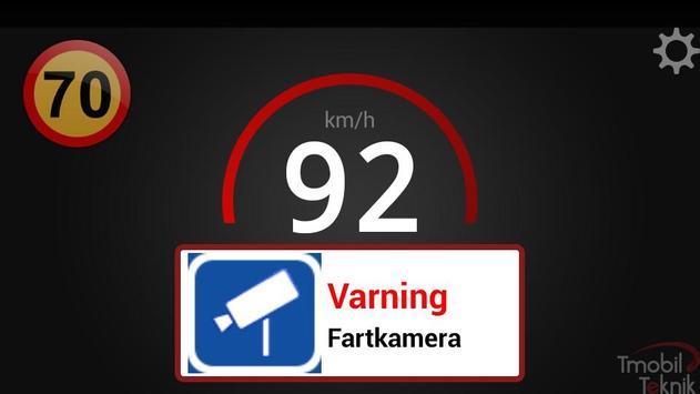 Trafikassistent screenshot 2