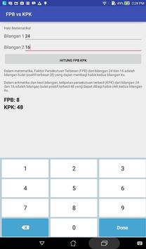 FPB vs KPK Kalkulator apk screenshot