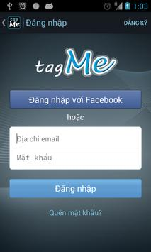 tagMe screenshot 1