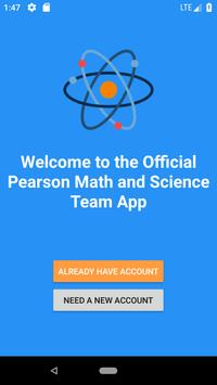 Pearson Math and Science Team poster