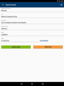 QLD Rego Check apk screenshot