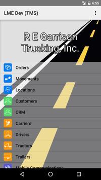 R. E. Garrison Trucking, Inc. poster
