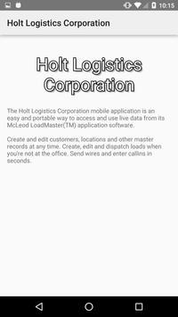 Holt Logistics Corporation apk screenshot