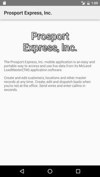 Prosport Express, Inc. apk screenshot