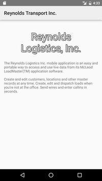 Reynolds Logistics, Inc. apk screenshot
