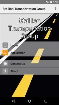 Stallion Transportation Group Mobile App poster