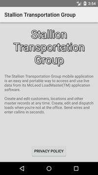 Stallion Transportation Group Mobile App apk screenshot