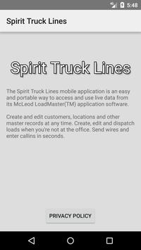 Spirit Truck Lines apk screenshot