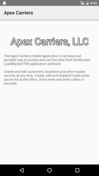 Apex Carriers screenshot 1