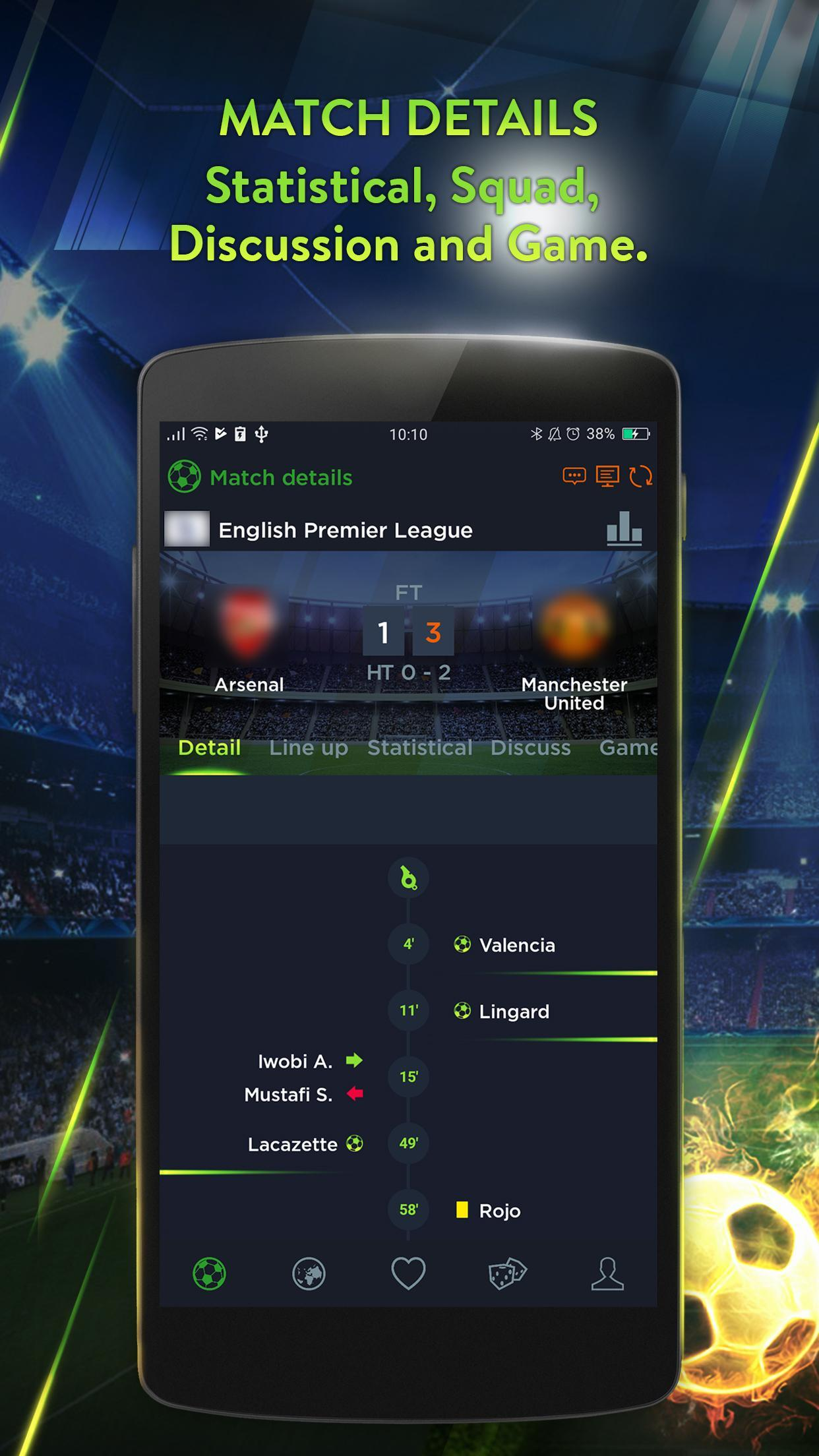 365 Football Soccer live scores for Android - APK Download