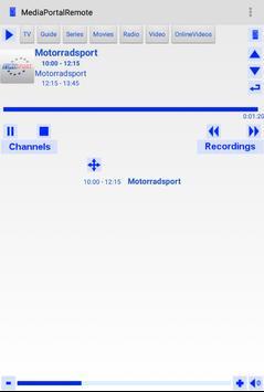 Mediaportalremote apk screenshot